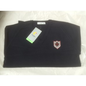 Cotton Blend S. Anselms Navy Jumper