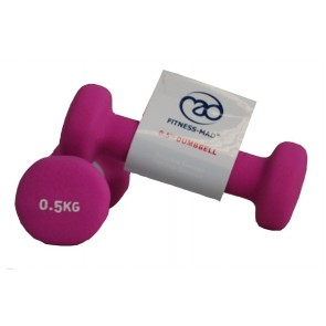 Fitness Mad 2x 0.5Kg Dumbell
