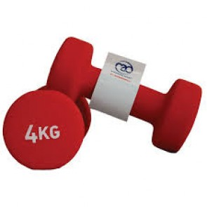 Fitness Mad 2x 4Kg Dumbell