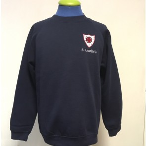 Crew Neck Sweatshirt (CJS) with embroidered badge