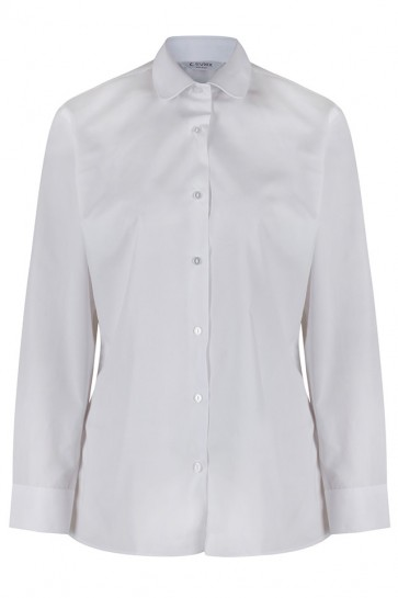 Trutex Katie Collar Long Sleeve Blouses- Twin PAck