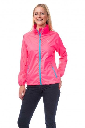 Target Dry- Mac in a Sac- Ladies Waterproof- Neon Pink