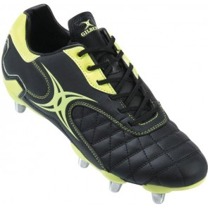 Gilbert Sidestep Revolution Lo 6 Stud Junior Rugby Boots