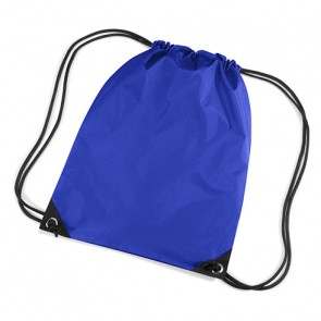 Highfields' Drawstring Bag in Royal with printing (not shown)