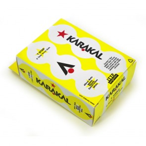 Karakal 1* Table Tennis Balls- 6 Pack