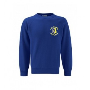 All Saints Royal Blue Sweatshirt