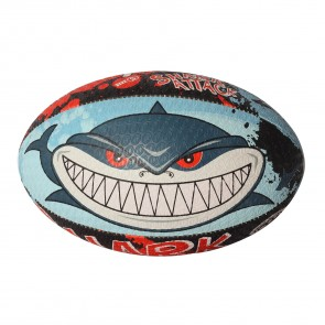 Optimum Shark Attack Rugby Ball- Choose Size
