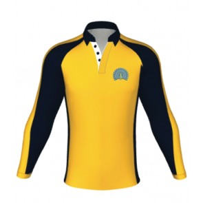 Lady Manners Rugby/Games Shirt Yellow Cockerton- AVAILABLE AUGUST 2018