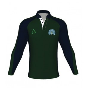 Lady Manners Rugby/Games Shirt Green Barker- AVAILABLE AUGUST 2018