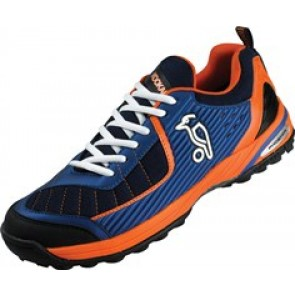 Kookaburra Phoenix Blue/Orange Hockey Shoe