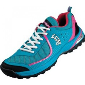Kookaburra Reef Turquoise/Pink Hockey Shoes