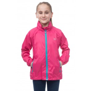 Target Dry- Mac in a Sac- Kids Waterproof- Neon Pink