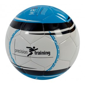 Precision Vortex MR5 Size 5 Blue/Silver Football