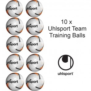 MULTI BUY 10 x Uhlsport Team Size 5 Footballs