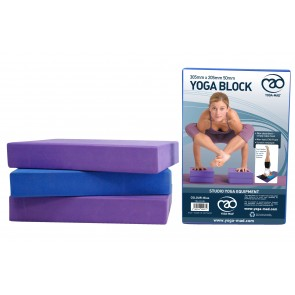 Fitness Mad Yoga Block 305mm x 205mm x 50mm